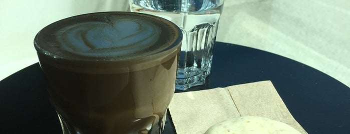 The Taste & See Coffee Shop is one of YVR.