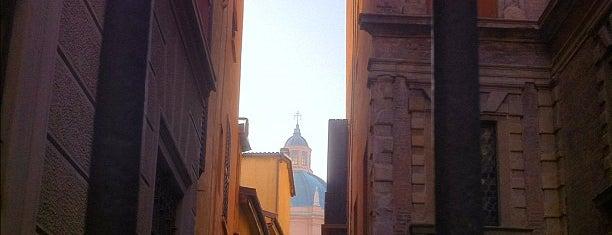 Via Castiglione is one of Bologna.