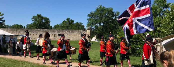 Fort de Chartres is one of Illinois's Greatest Places AIA.