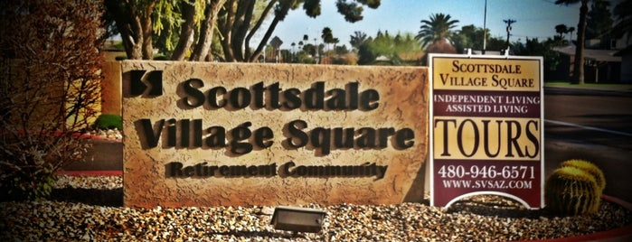 Scottsdale Village Square is one of Lieux qui ont plu à Justin Eats.