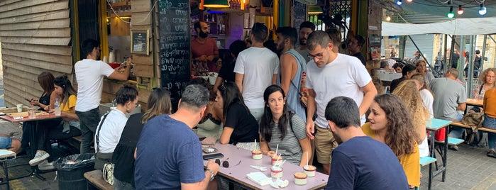 Hamalabiya is one of Tel Aviv.
