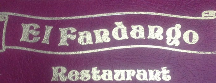 El Fandango Restaurant is one of Food :).