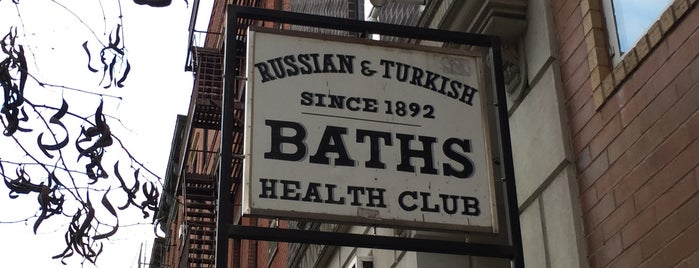 Russian & Turkish Baths is one of East Village Oddities.