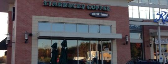 Starbucks is one of Tempat yang Disukai Robert.