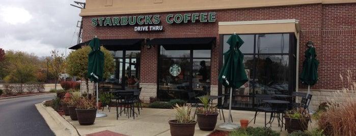 Starbucks is one of Lieux qui ont plu à Melissa.