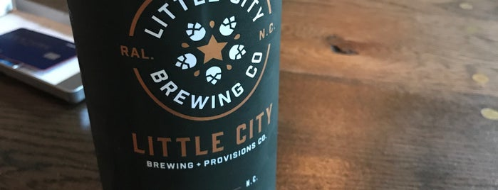 Little City Brewing + Provisions Co. is one of Tempat yang Disukai Greg.