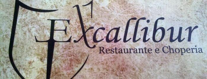 Excallibur Restaurante e Choperia is one of Lieux sauvegardés par Michel.