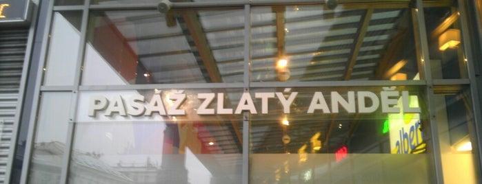 Pasáž Zlatý Anděl is one of Fotogenické pasáže v Praze.
