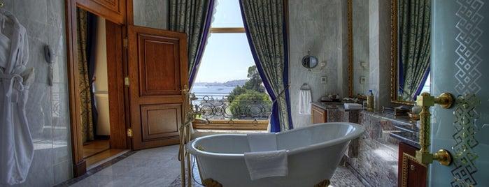 Çırağan Palace Kempinski Istanbul is one of Vincent : понравившиеся места.