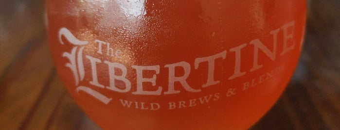 The Libertine Brewing Company is one of Central CA Coast.