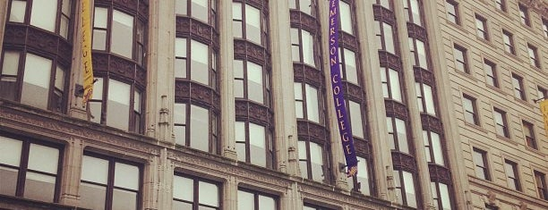 Emerson College is one of Boston.