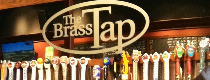 The Brass Tap is one of Lugares favoritos de Andy.