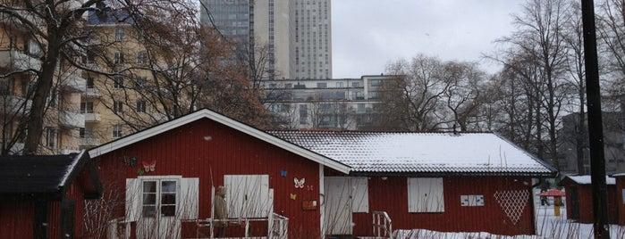 Skånegläntan is one of Stockholm.