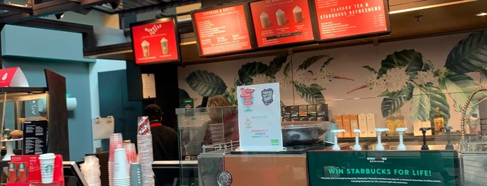 Starbucks is one of AT&T Spotlight on Charlotte, NC.