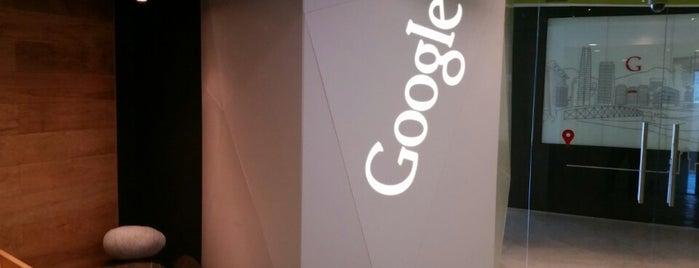 Google SCL is one of สถานที่ที่ Mapi ถูกใจ.