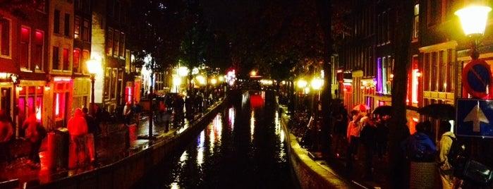 Квартал красных фонарей is one of Visiting Amsterdam.