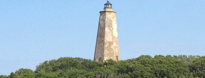 Old Baldy Lighthouse is one of North Carolina.