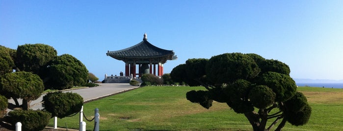 Korean Bell of Friendship is one of LA.