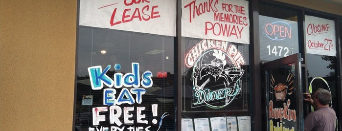 Chicken Pie Diner is one of Top picks for Burger Joints.