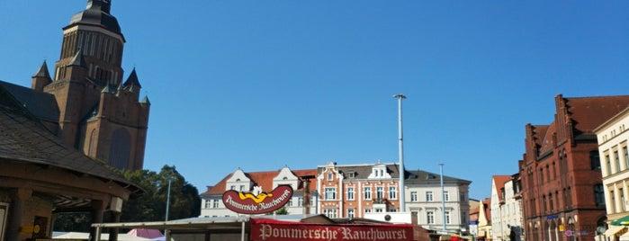 Denkmal Neuer Markt is one of Stralsund🇩🇪.