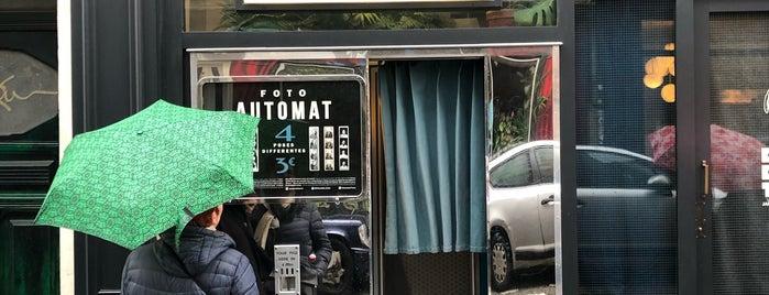 Fotoautomat is one of paris places.