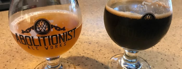 Abolitionist Ale Works is one of West Virginia Breweries.