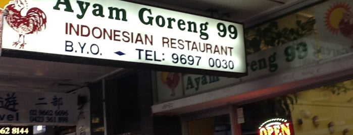 Ayam Goreng 99 is one of Sydney ❤️.