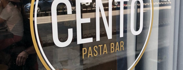 Cento Pasta Bar is one of Food places to try.