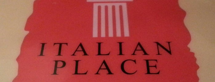 Italian Place is one of Favorite Food.