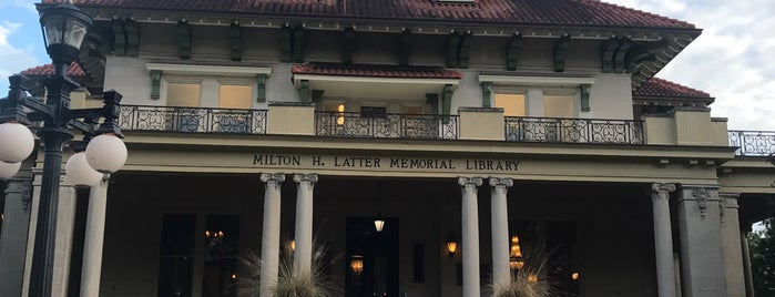 Milton H. Latter Memorial Library is one of New Orleans Points of Interest.