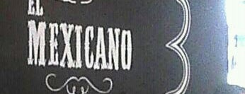 El Mexicano is one of Mezcalerías.