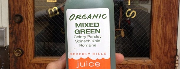 Beverly Hills Juice Club is one of LA.