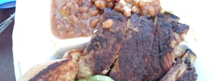 Brooks Family BBQ is one of Houston spots pt. 2.