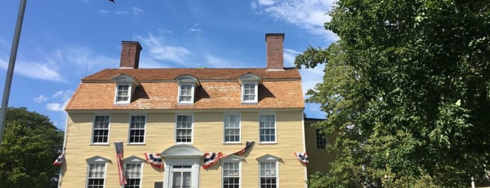 John Paul Jones House is one of New England.