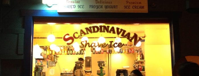 Scandinavian Shave Ice is one of Orte, die Drew gefallen.
