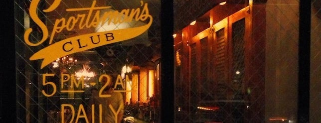 Sportsman's Club is one of Chicago favorites.