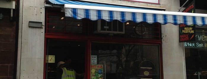 Cortina Sandwich Bar is one of London mClub sponsors.
