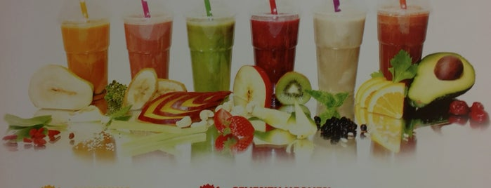 Smoothieland is one of Europe.