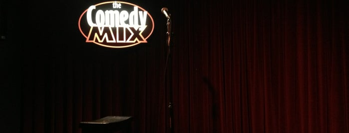 The Comedy Mix is one of Nick's Liked Places.
