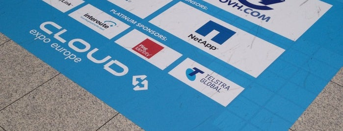 Cloud Expo Europe is one of สถานที่ที่ Saso ถูกใจ.