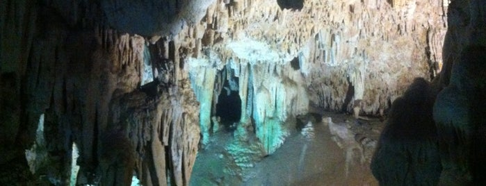 Cueva de Nerja is one of Malaga, Spain.
