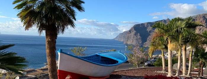 Terrace Los Gigantes is one of Tenerife 2019.