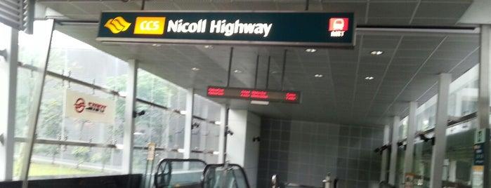 Nicoll Highway MRT Station (CC5) is one of gezme.