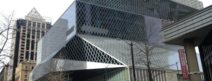 Seattle Public Library is one of 建築マップ.