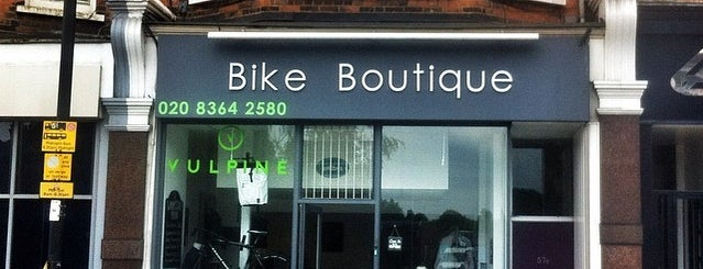 Bike Boutique is one of Spring Famous London Story.