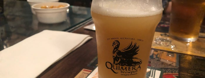 Quimera Brewpub is one of Portugal.