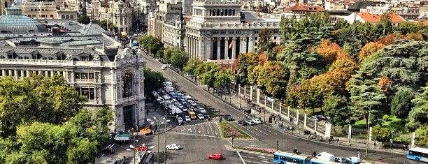Plaza de Cibeles is one of Best of Madrid.