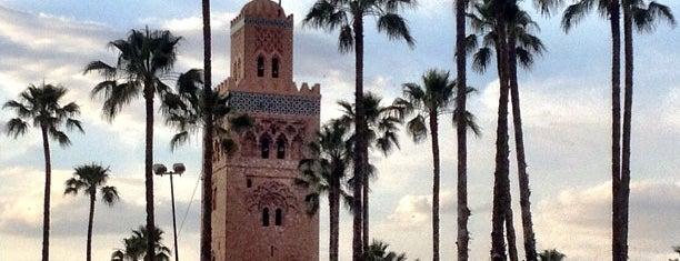 Mosquée de la Koutoubia (جامع الكتبية) is one of Morocco.
