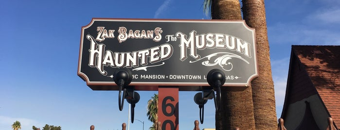 Zak Bagans' The Haunted Museum is one of Posti salvati di Whit.