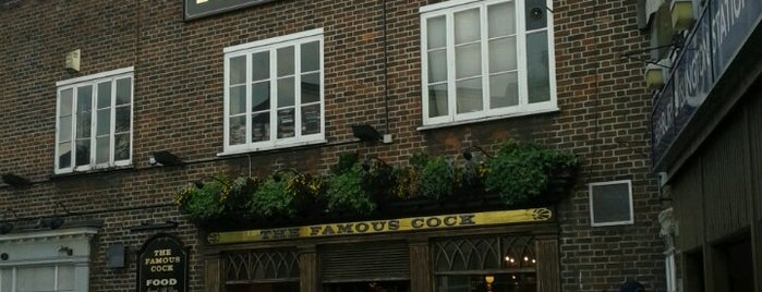 Famous Cock Tavern is one of if you're ever in ____.